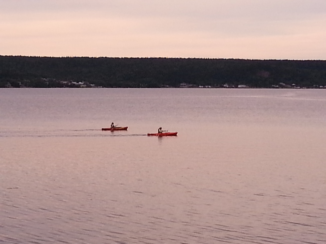 Out For A Canoe Ride Glovertown, Newfoundland and Labrador Canada