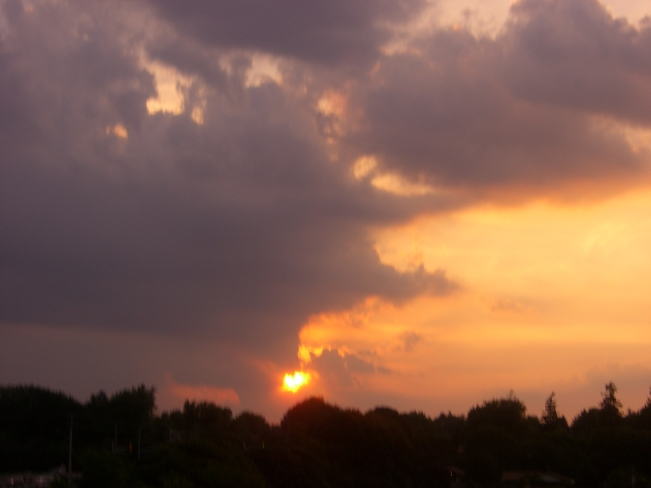 Cloud Framed Sun Kitchener, Ontario Canada