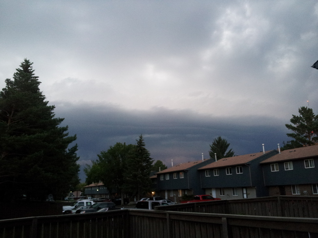 Storm Rolling into North Red Deer Red Deer, Alberta Canada