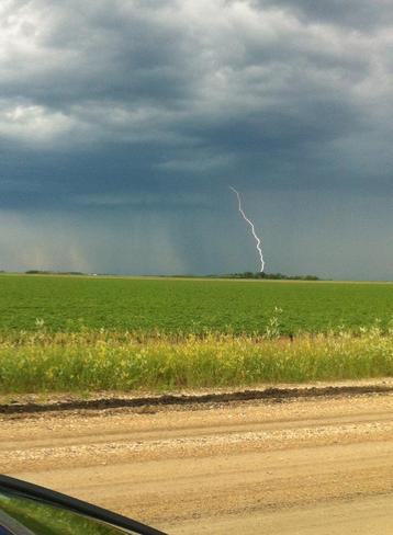 Lightning Headingley, Manitoba Canada