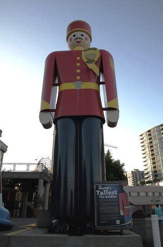 The Tallest Tin Soldier in the World New Westminster, British Columbia Canada