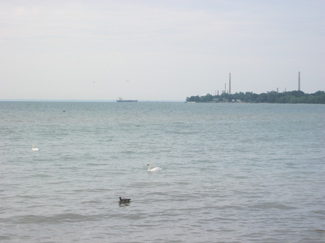 Lake Ontario from Port Credit Port Credit, Ontario Canada