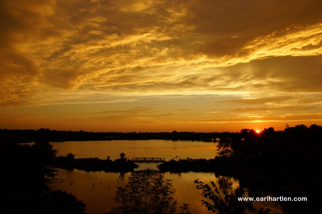 Golden Sunset Waterford, Ontario Canada