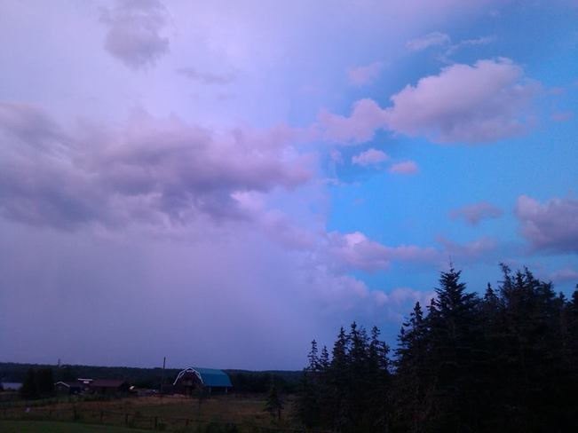 Tornado watch Louisbourg, Nova Scotia Canada