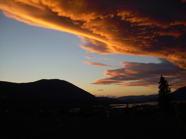 Shuswap Summer Evening Salmon Arm, British Columbia Canada