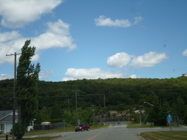 Clouds, Hill,and Rock Elliot Lake Elliot Lake, Ontario Canada