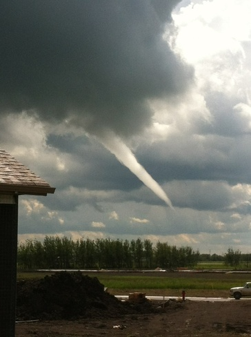 Funnel cloud Winnipeg, Manitoba Canada