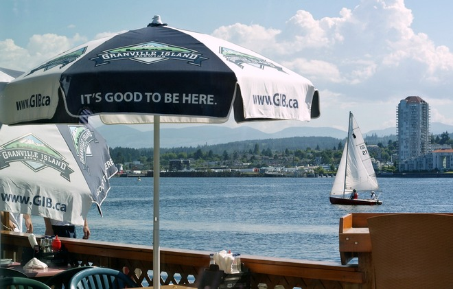 Floating Pub and Patio Nanaimo, British Columbia Canada