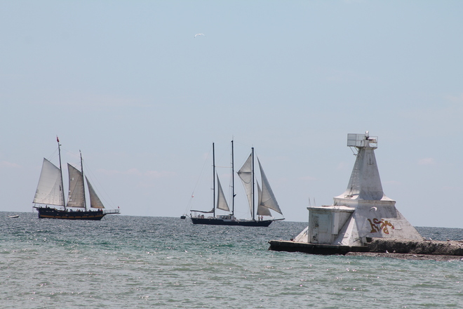 Tall Ships In Port Stanley St. Thomas, Ontario Canada