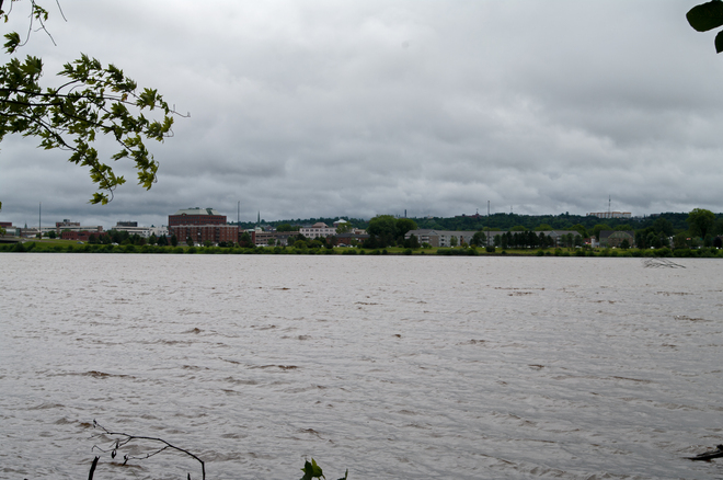 Rain Clouds over Fredericton Fredericton, New Brunswick Canada