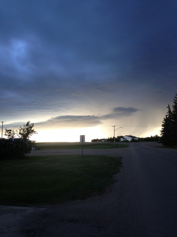 Light in the Darkness Brock, Saskatchewan Canada