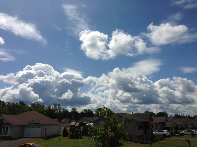 cool clouds Cornwall, Ontario Canada