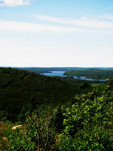 Elliot Lake from Lacnor Ridge Elliot Lake, Ontario Canada