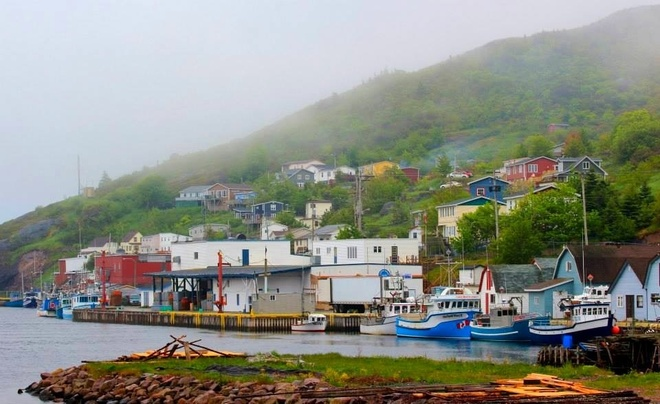 Pretty Petty Harbour Mount Pearl, Newfoundland and Labrador Canada