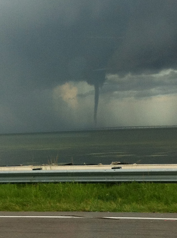 Waterspout Tampa, Florida United States