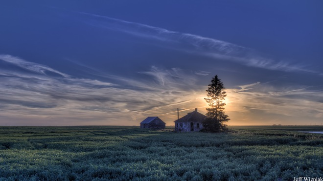 Sunset at Vanscoy Vanscoy, Saskatchewan Canada