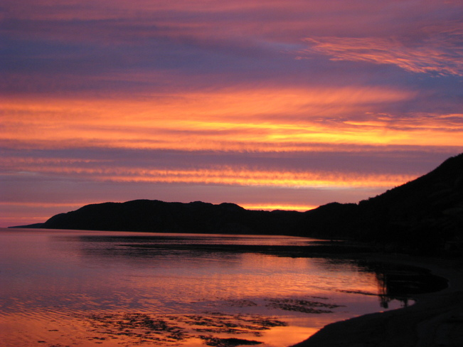 Morning sunrise Glovertown, Newfoundland and Labrador Canada