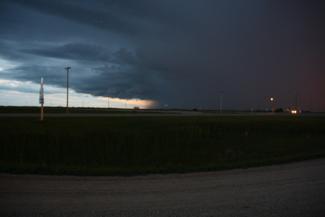 Storms a coming St. Adolphe, Manitoba Canada