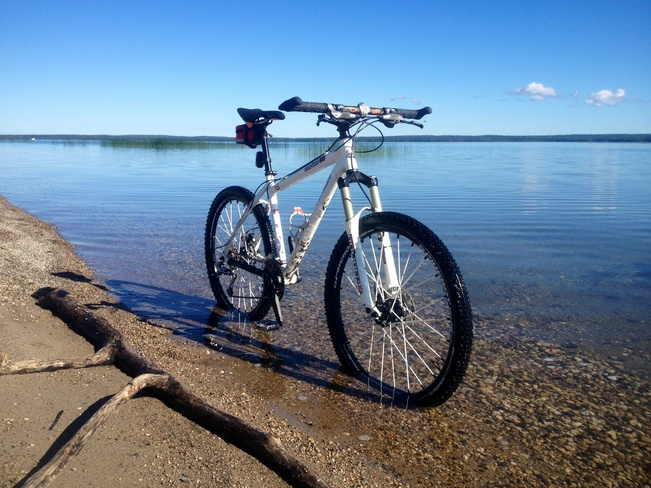 long weekend cycling Wasagaming, Manitoba Canada