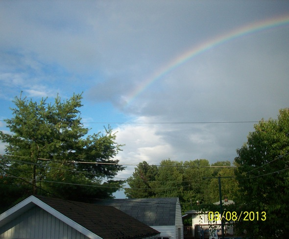 Rainbows Sturgeon Falls, Ontario Canada