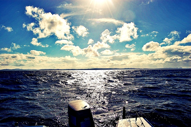 Perfect day on the water Conception Bay South, Newfoundland and Labrador Canada