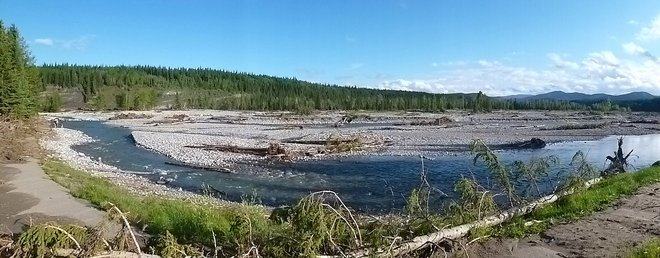 Allen Bill Pond, Kananaskis Country Alberta, Destroyed by 2013 Flood Calgary, Alberta Canada