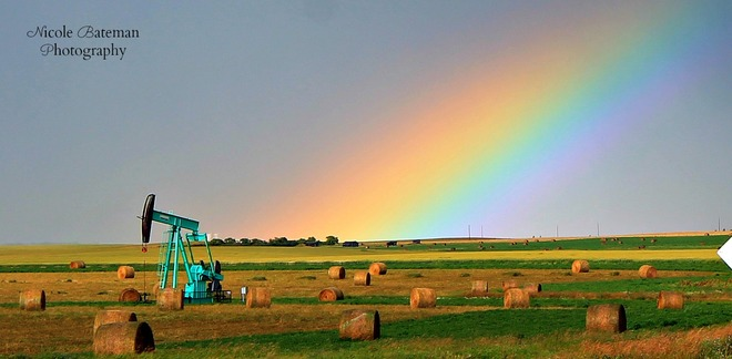 There's always a rainbow Shaunavon, Saskatchewan Canada
