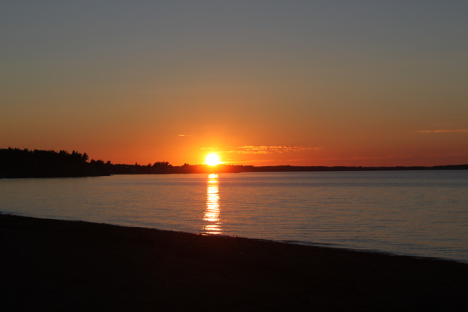 sunset Pugwash, Nova Scotia Canada