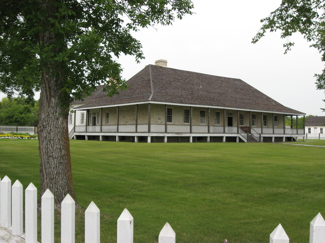 The Big House! St. Andrews, Manitoba Canada