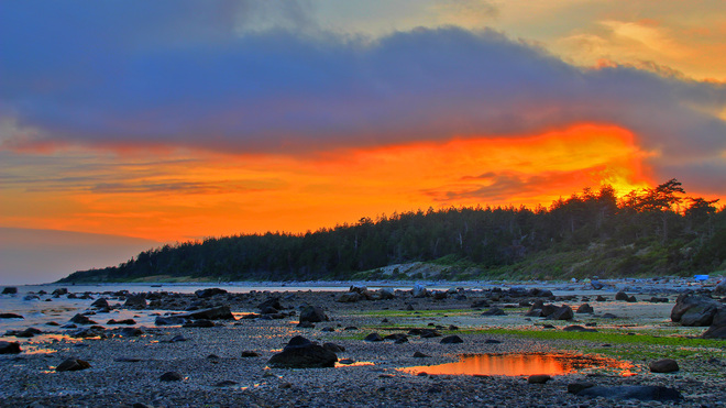 Duck Bay - Savary Island Lund, British Columbia Canada
