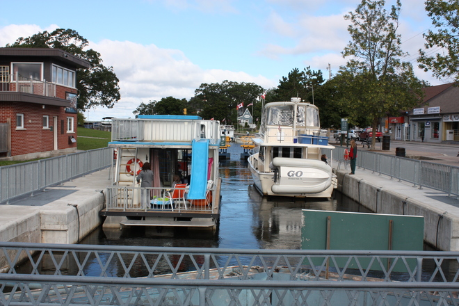 The Fenelon Falls Locks 4