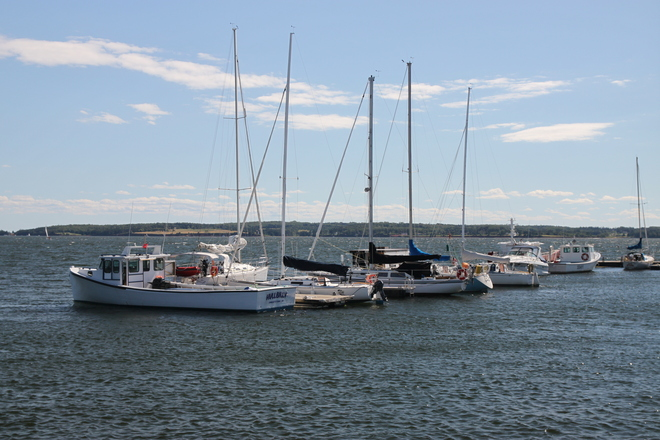 Peakes Quay In Charlottetown, PEI St. John's, Newfoundland and Labrador Canada
