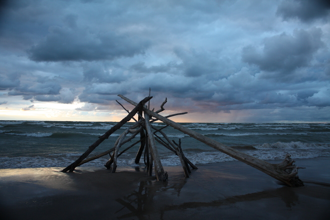 Dark Skies Grand Bend, Ontario Canada