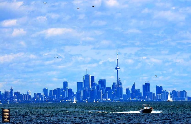 Beautiful day Toronto, Ontario Canada