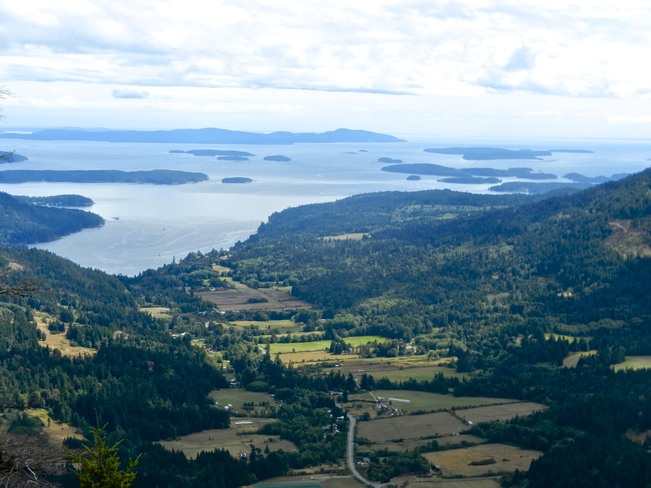 View from Salt Spring Island BC Sidney, British Columbia Canada