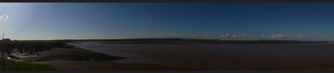 Cornwallis River and Minas Basin Wolfville, Nova Scotia Canada