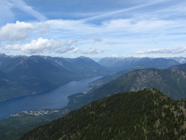 SLOCAN LAKE LOOKING NORTH New Denver, British Columbia Canada