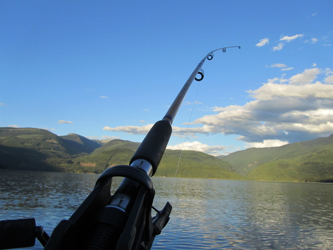 Fishing Cherryville, British Columbia Canada