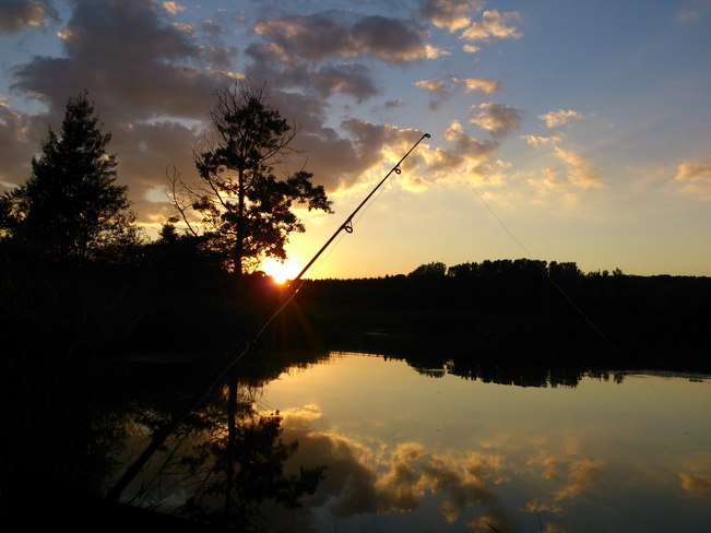 Summer Fishing Woodstock, Ontario Canada