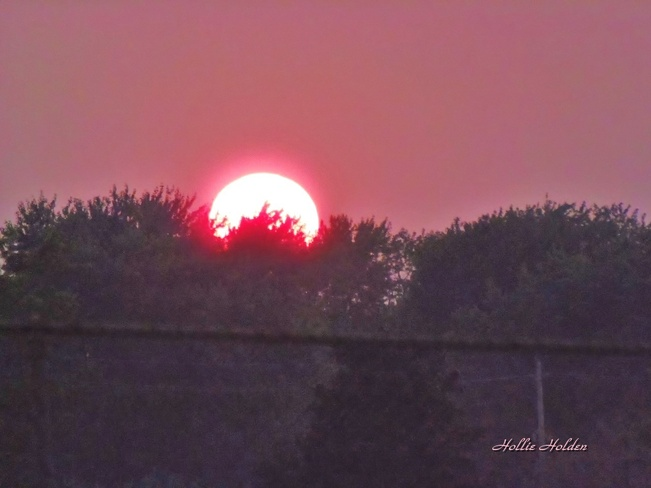 And the Sun Goes Down! Welland, Ontario Canada