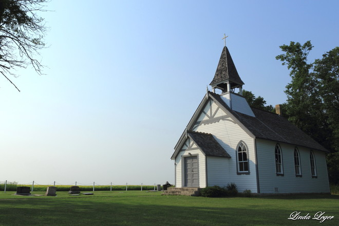 Country Church St. Francois Xavier, Manitoba Canada