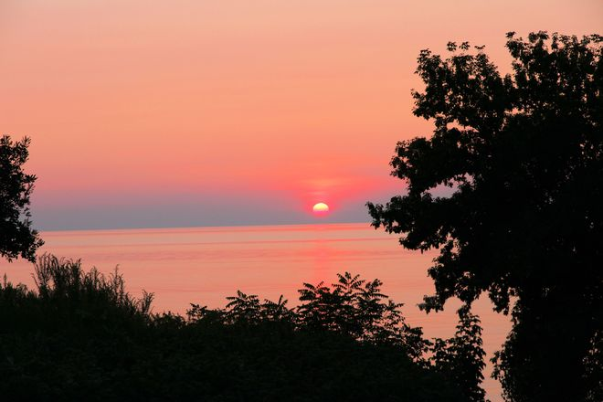 Sunset on Lake Huron Grand Bend, Ontario Canada