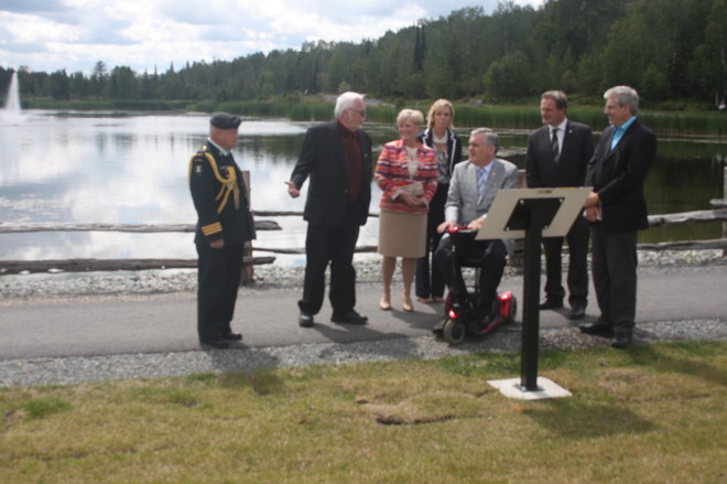 Lieutenant Governor David C. Onley Visit To Kirkland Lake Kirkland Lake, Ontario Canada