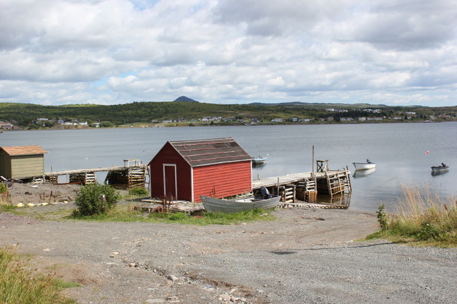 beautiful summer day Norman's Cove-Long Cove, Newfoundland and Labrador Canada