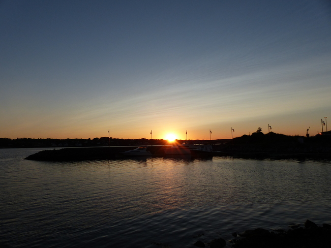Sunset Sydney, Nova Scotia Canada