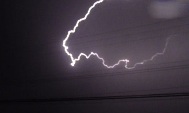 Lightning Prince George, British Columbia Canada
