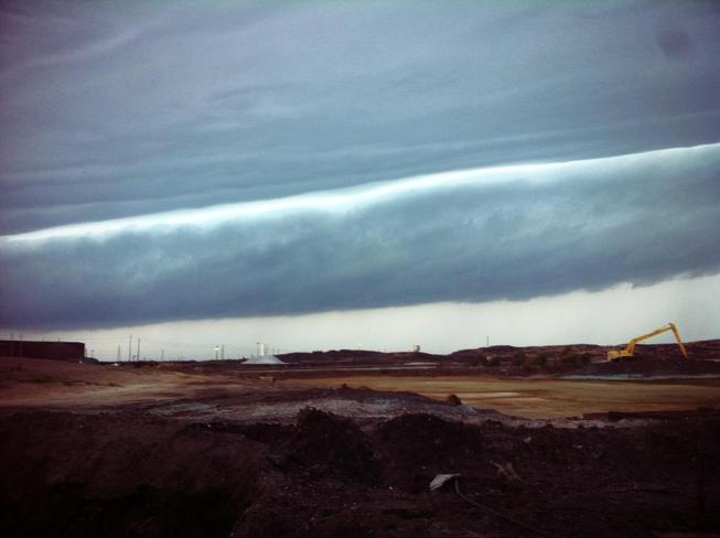 Storm Clouds Copper Cliff, Ontario Canada