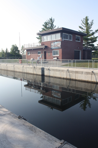 Reflections of Fenelon Falls Locks