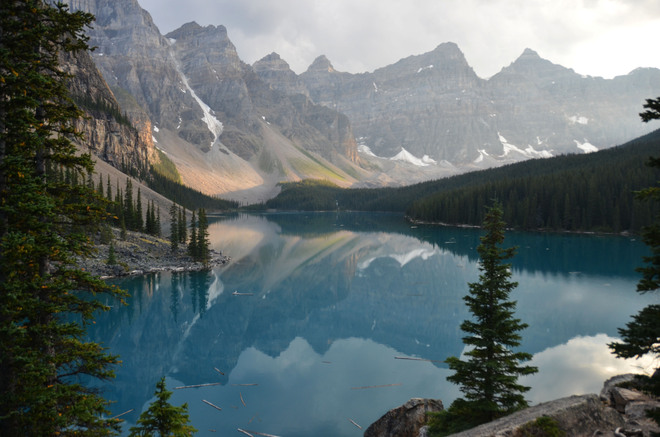 beautiful Moraine Lake Lake Louise, Alberta Canada