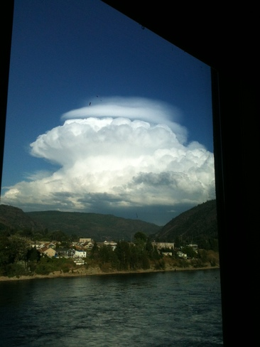 Cumulonimbus by the Columbia Trail, British Columbia Canada